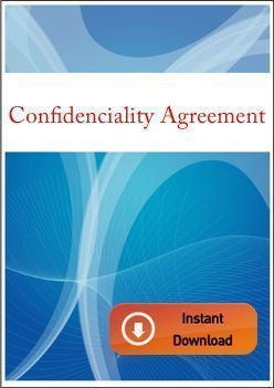confidentiality agreement international contracts