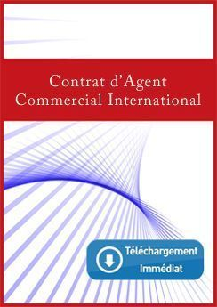 Contrato d'Agent Commercial International