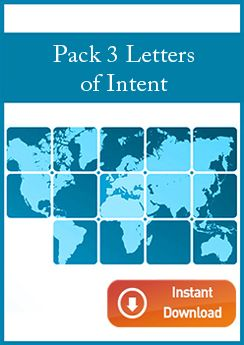 Pack 3 Letters of Intent